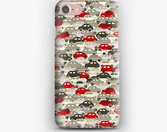 IPhone case 7 Cars - Red and Silver 7 + liberty iPhone case
