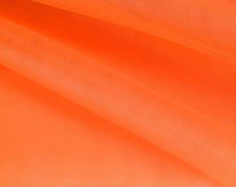 fabrics for orange stiff tulle tutu