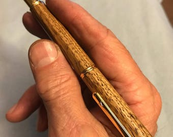 Turned Wood Rollerball Pens