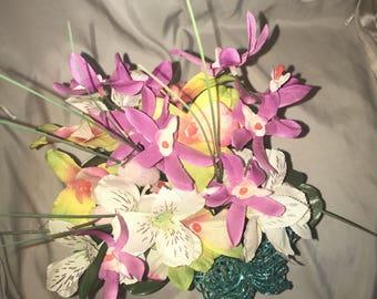 spring time floral arrangement
