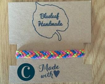 Funky friendship bracelet