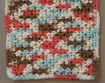Handmade crochet cotton cloth