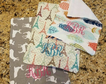 Embroidered baby cloths