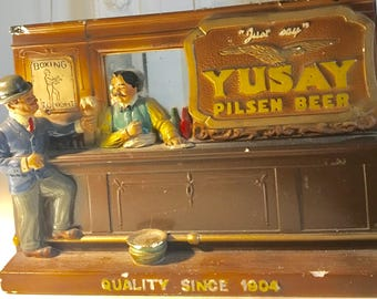 Advertising figure for beer Pilsner