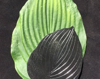 Hosta Leaf Ornament
