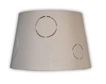 Deco round gray shade