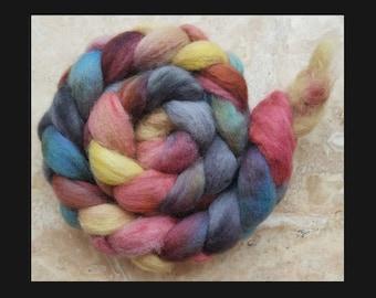 Hand Painted Romney Wool Top