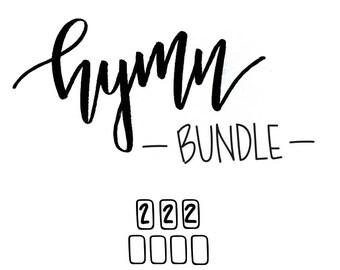 hymn bundle // (10) 4 x 6 postcard prints