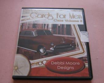 Debbi Moore Designs, Cards  for Men, Cars Vol 2