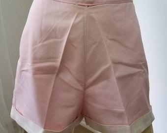 Pink 1960's shorts