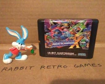 FREE shipping! Rockman X3 for Sega Genesis & Mega Drive custom video game