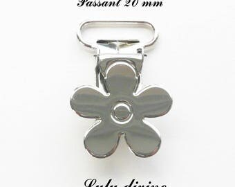 20 clips metal flower pacifier pacifier blanket from 20 mm