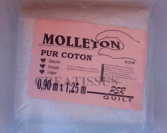 Pure cotton 0.9 x 1.25 m m fleece
