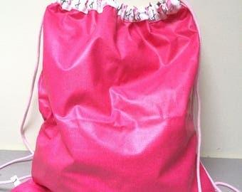 Pink pool backpack