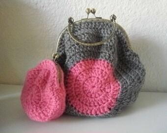 100% Handmade Crochet Handbag
