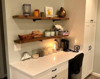 Modern Kitchen Shelf kitchen shelf | etsy