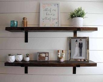 farmhouse shelf etsy