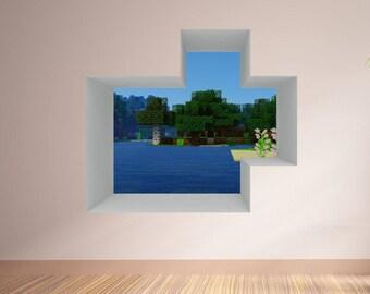 Minecraft Poster Etsy