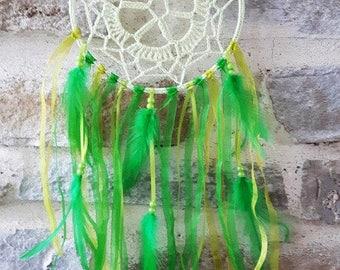 Great catches dreams crochet light green