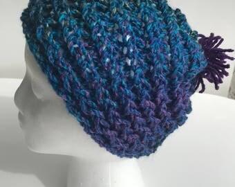 Handmade Knitted Beanie 4016