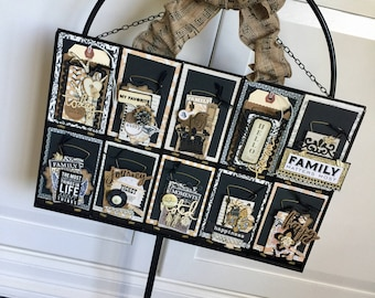 Hanging Metal Photo Tray