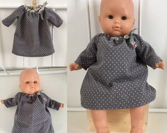 long sleeve doll dress