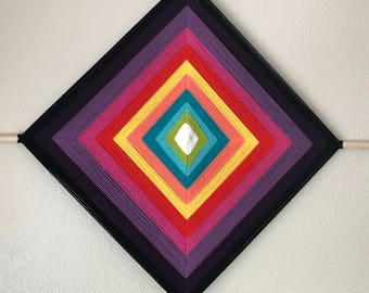 Colorful God's Eye (Ojo de Dios)