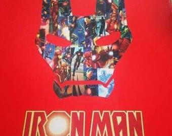 Iron Man Comic Canvas