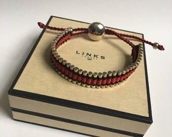LINKS of LONDON Bracelet sterling silver 925 Friendship bracelet original box Links of London