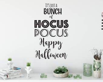 Hocus Pocus SVG, Happy Halloween Svg, Fall Svg, SVG Files For Circuit, SVG Files For Silhouette, It's Just A Bunch Of Hocus Pocus, Dots Svg