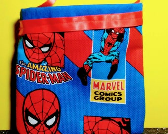 6 Spiderman Inspired Treat-bags