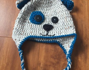 Puppy Earflap Hat