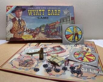 Wyatt Earp Board Game