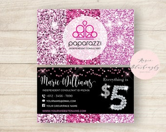 Paparazzi business cards etsy paparazzi business cards free personalized paparazzi jewelry consultant cardglitter for vistaprint reheart Image collections