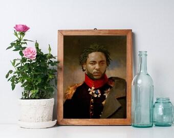 Kendrick Lamar Limited Artwork