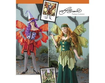 Simplicity 1550 pattern Fantasy Fairy Costumes by Amy Brown Sizes 14-22 in one pattern