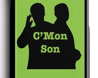 Psych C'Mon Son iPhone Case