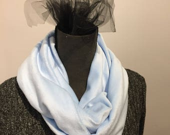 Scarf | Scarves | Womens Scarf | Womens Scarves | Blue Womens Scarf | Blue Womens Scarves | Soft Scarves | Soft Womens Scarves | Infinity