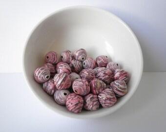 Handmade Paper Beads Loose