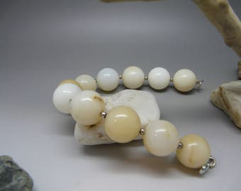 Opal Bead Bracelet