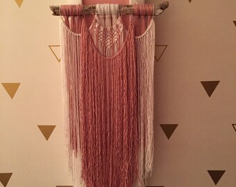 Handmade Yarn Wall Hanging