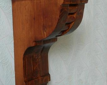 Classical wood wall bracket