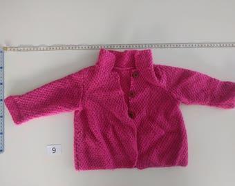 Handmade baby knitwear 9