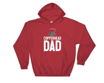 Proud Copperhead Dad Hooded Sweatshirt
