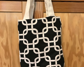 Cute small canvas tote