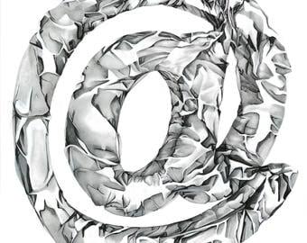 Aluminum Foil Drawing