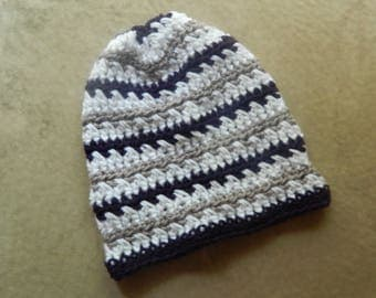 Crochet Adult Scrunch Hat