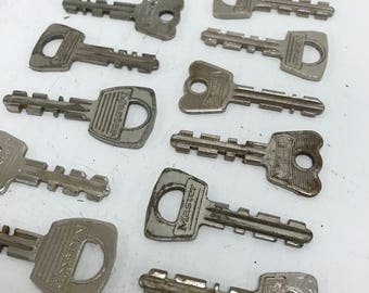 Vintage Master Keys- Set of 20