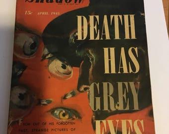 Death has grey eyes