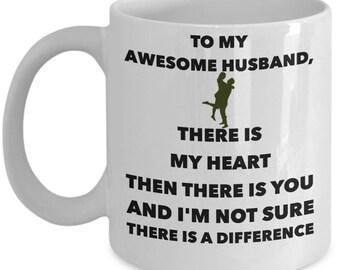 Husband Coffee Mug-To My Awesome Husband - I Love My Husband- Gift- Best Husband